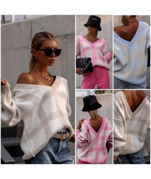Дамска блуза в актуален десен