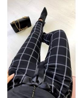Дамски еластичен панталон до XXL