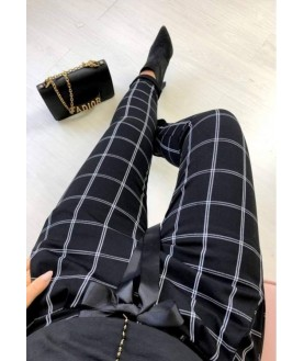 Дамски еластичен панталон до 4XL
