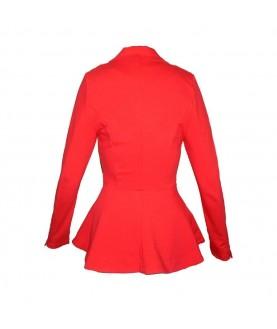 Атрактивно дамско сако до 2XL в два цвята