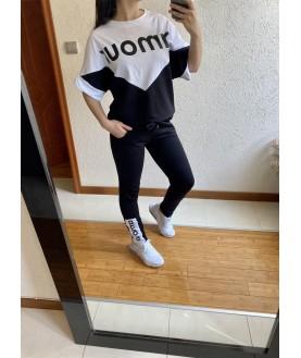 Дамски Екип До 5XL С Блуза Свободен Силует AMOUR