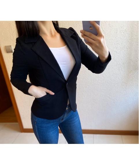 Дамско сако до 3XL в черно