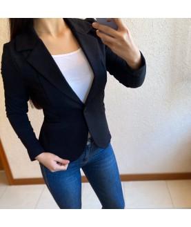 Дамско сако до 4XL в черно