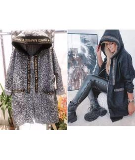 Дамско палто до 3XL в два цвята