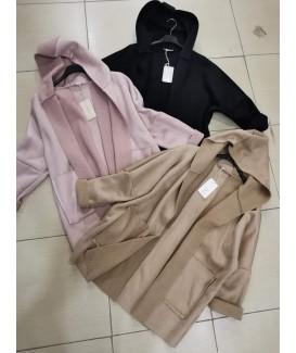 Дамско велурено палто